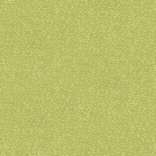 Makower Heartwood Dash Green Fabric